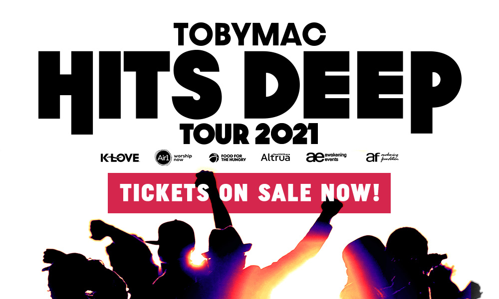 TOBYMAC Hits Deep Tour 2021 - Tickets On Sale Now!